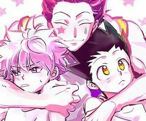 anime, hunter x hunter, and hisoka image