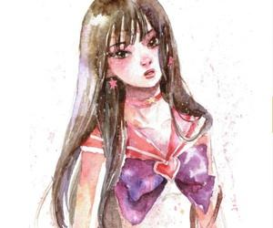 art, manga, and sailor moon image