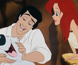 ariel, eric, and the little mermaid image