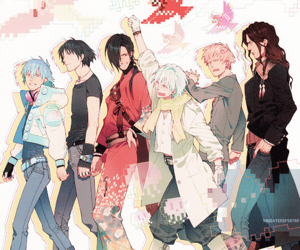 aoba, dramatical murder, and anime image