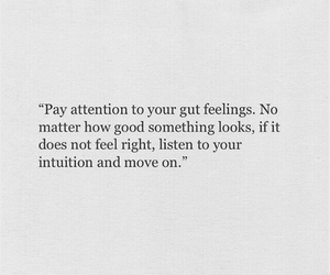 good, intuition, and move on image