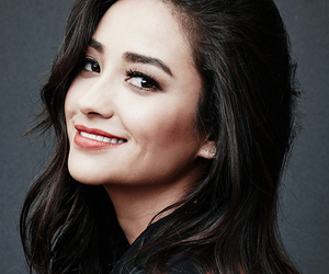 bw, girl, and shay mitchell image
