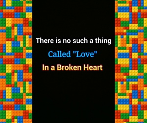 broken, heart, and stupid image