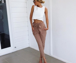 beauty, fashion, and pants image