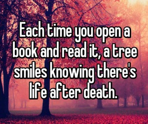 book, death, and life image