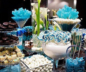 blue, candy bar, and deco image