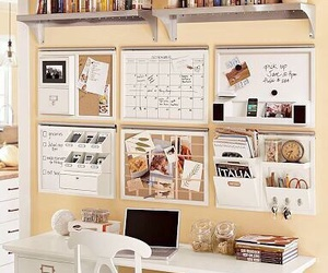 desk, room, and organization image