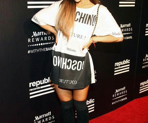 ariana grande and Moschino image