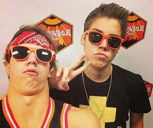 matthew espinosa, matt, and taylor caniff image