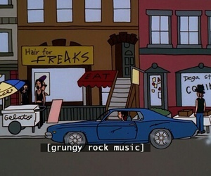 grunge, music, and Daria image