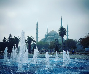 beautiful, blue mosque, and turkey image
