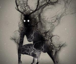art, creature, and creepy image