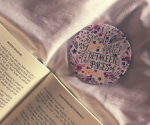 bibliophile, books, and girly image