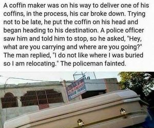 funny, coffin, and lol image