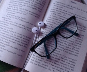 book and earpods image