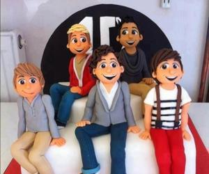 one direction, 1d, and cake image