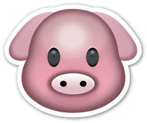 pig and emoji image