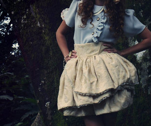 clothes, fashion, and frilly image