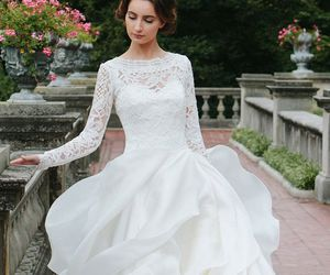bride, dresses, and bride dress image