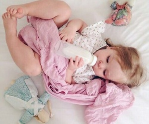 baby, adorable, and baby girl image
