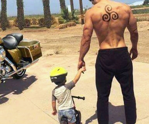 goals, muscles, and baby image