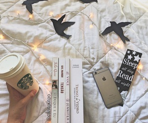 books, white, and instagram image