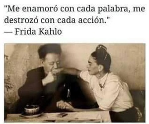 frases, frida kahlo, and desamor image