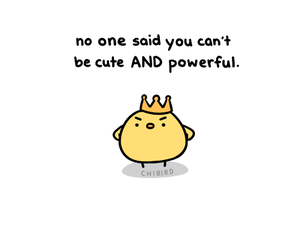 chibird and cute image