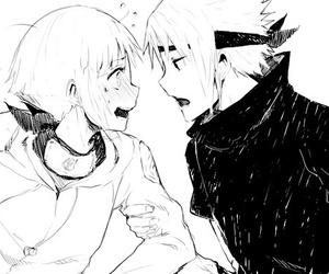 hinata, blush, and manga image