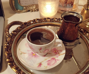 arab, coffee, and food image