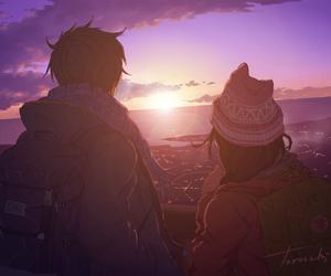 anime, boy, and art image