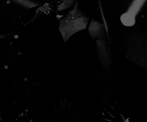 b&w, Queen, and ariana grande image