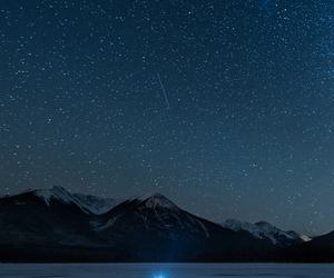 mountains and stars image