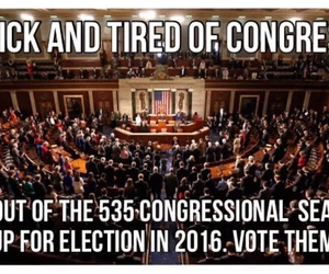 congress, gtfo, and vote image