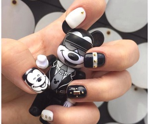 mickey mouse and nails image