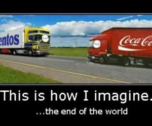 funny, lol, and mentos image