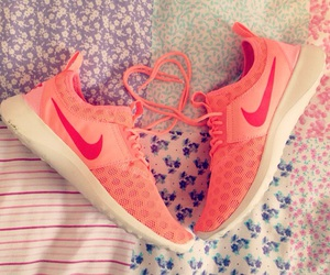 coral, pretty, and fitness image