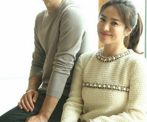 dots, song hyekyo, and song joongki image