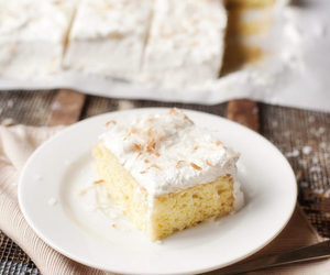cake, coconut, and desserts image