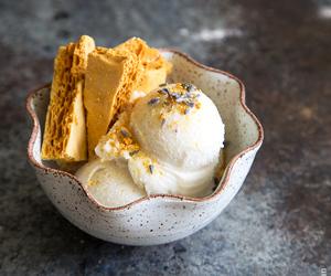 desserts, food, and honeycomb image