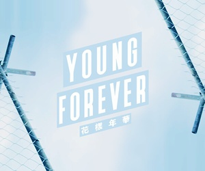 bts, jin, and young forever image