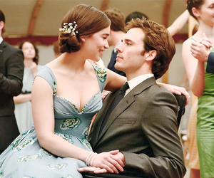 me before you, couple, and movie image