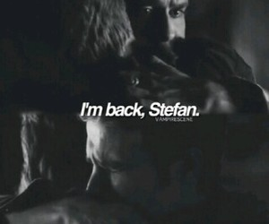 stefan salvatore, brothers, and vampire image