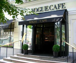 vogue, cafe, and vogue cafe image