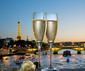 paris and champagne image
