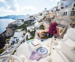 travel, vacation, and Greece image
