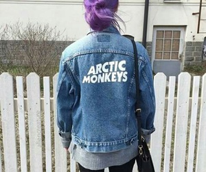arctic monkeys, hair, and grunge image