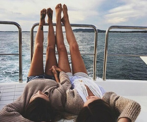best friends, friends, and summer image