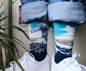 jeans and socks image