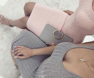 fashion, grey, and glamour image